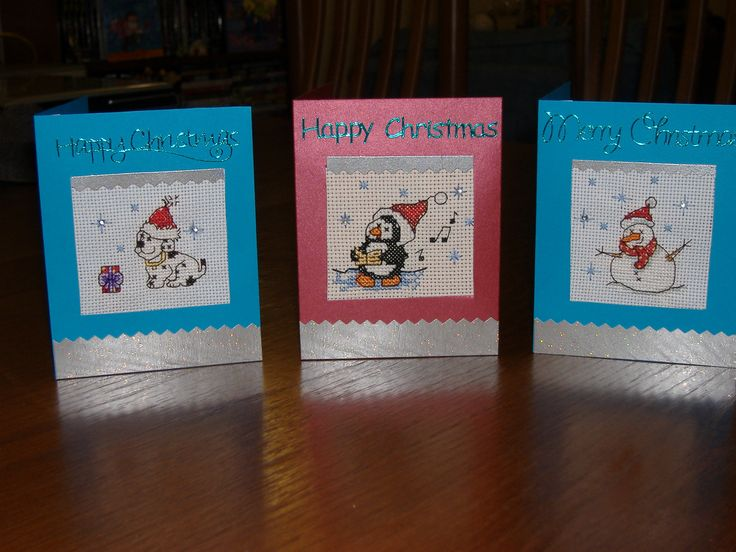 Cross Stitch Christmas Cards.