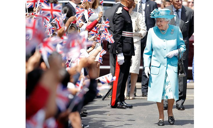 There was no shortage of young royal fans as the Queen visited Mayflower Primary School in London on June 15. <br><p>Photo: Getty Images