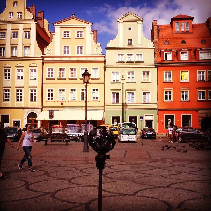 #virtualreality shooting at Wroclaw #360 #gopro #beahero #goprohero #VRPREMIUM