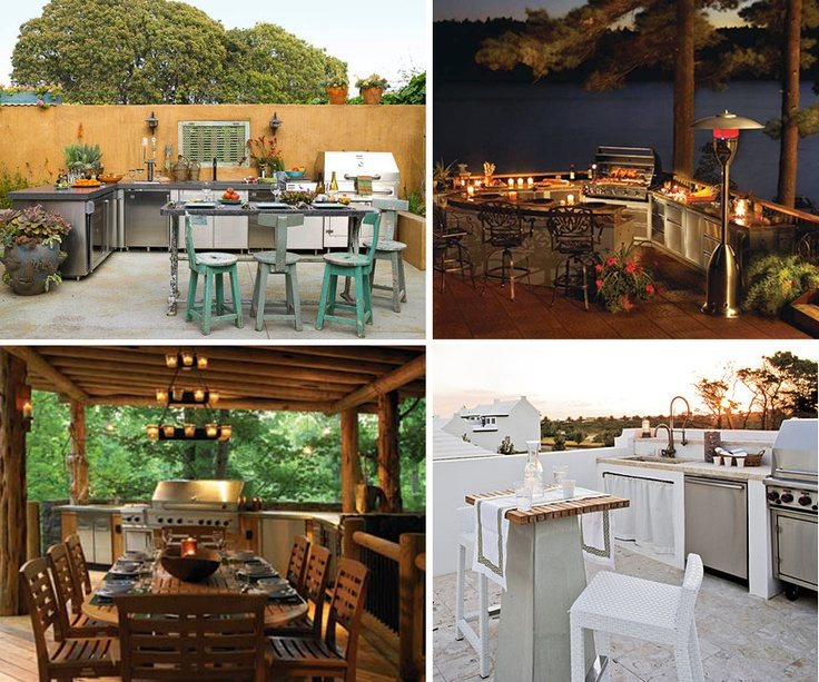 Outdoor Kitchens | Backyard And Outdoor Ideas | Pinterest | Outdoor Kitchens Kitchens And Outdoor