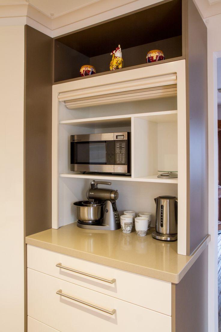 Appliance pantry. www.thekitchendesigncentre.com.au