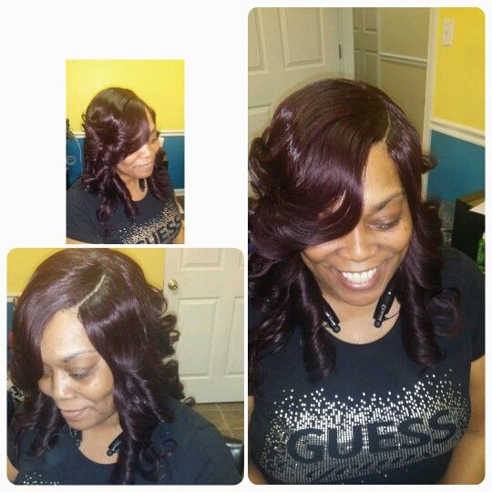 1000+ images about Hair Quickweave Invisible Part on Pinterest Quick