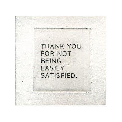 Gracias por ser inconformista