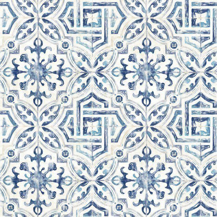 I Quite Like This Splendid Photo Texturedbathroomtile Geometric Wallpaper Brewster Wallpaper Tile Wallpaper