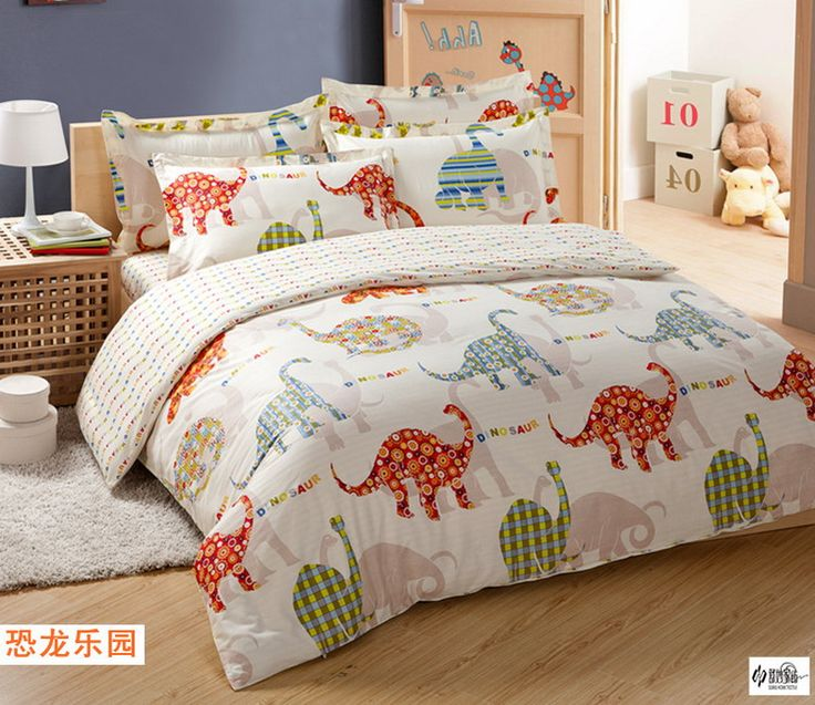 dinosaur park cream colored dinosaur bedding set dinosaur bedding pinterest dinosaur. Black Bedroom Furniture Sets. Home Design Ideas