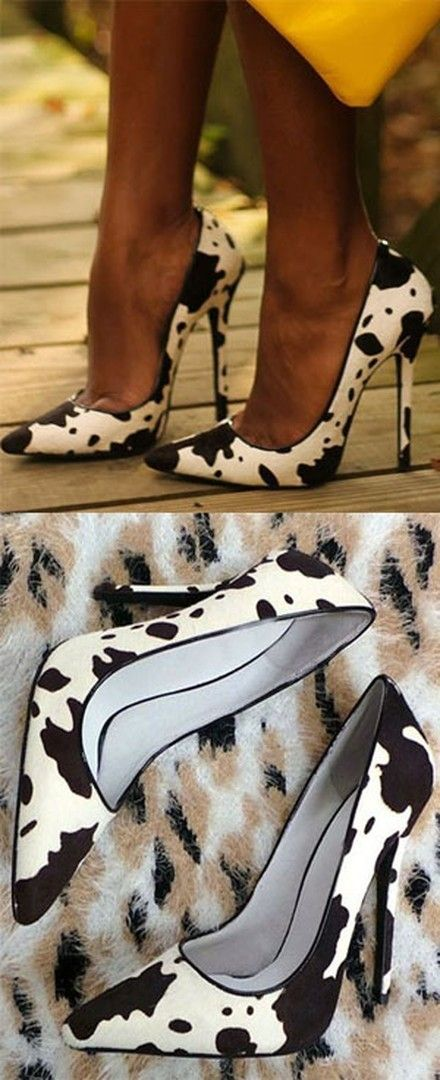 Shoespie Wild Puppy Spotty Stiletto Heels http://fave.co/2dj7TMz