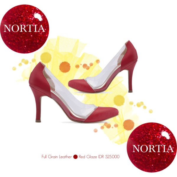 """""""RED GLAZE"""" by nortia-shoes on Polyvore"""