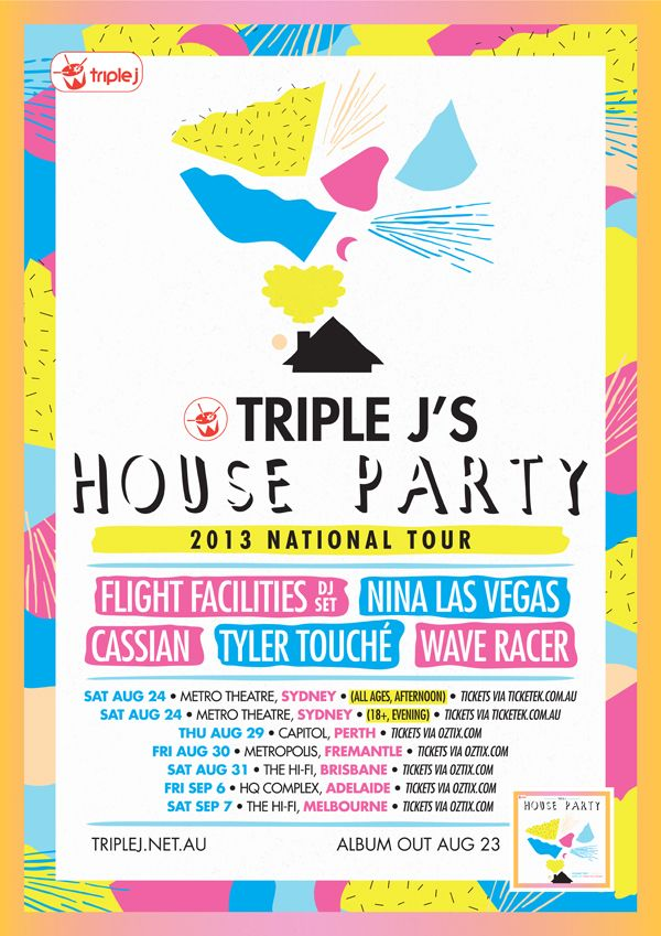 TRIPLE J HOUSE PARTY - TYLER HILL