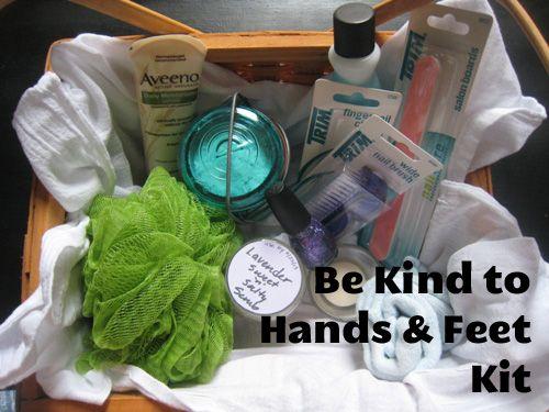 Dime be kind to hands and feet kit milk bath hand scrub and scrubs