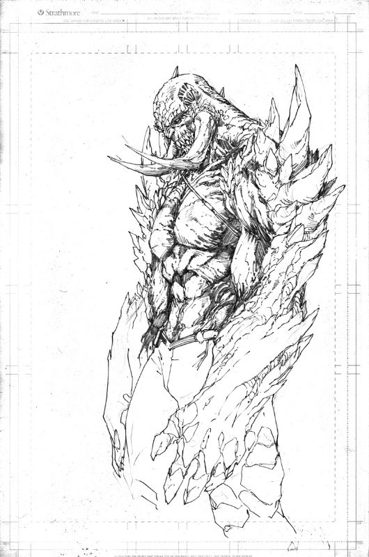 BRETT BOOTH DC NEW 52 CONCEPT DOOMSDAY