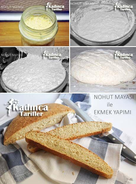 Nohut Mayası İle Ekmek Tarifi