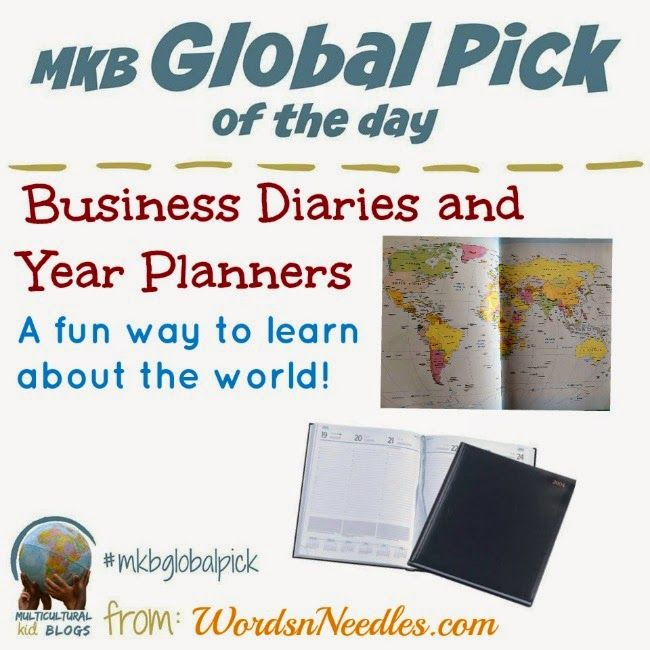 How to use Business Diaries To Teach Your Child About The World #mkbglobalpick #multicultural #kidseducation