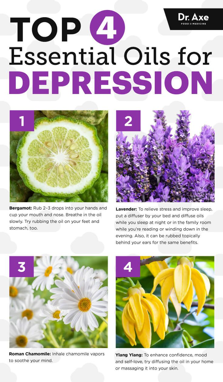 Top four essential oils for depression - Dr. Axe