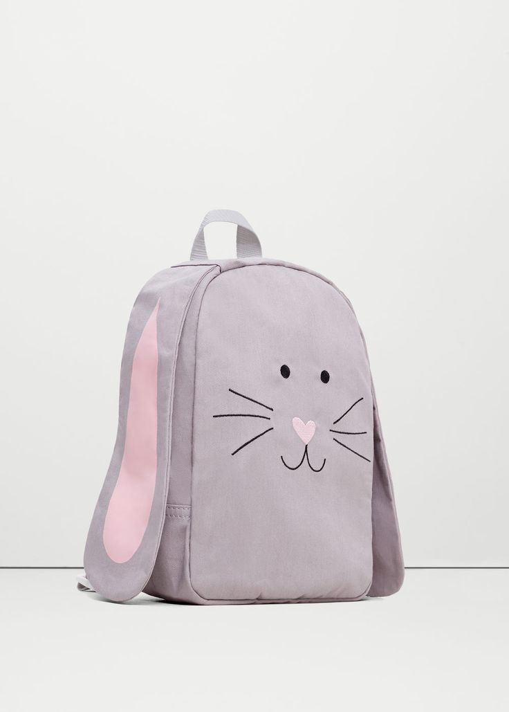 Embroidered backpack | MANGO KIDS