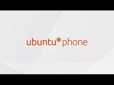 Ubuntu phone walkthrough video