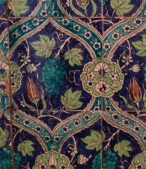 Islamic tiles - kitchen backsplash or bathroom floor
