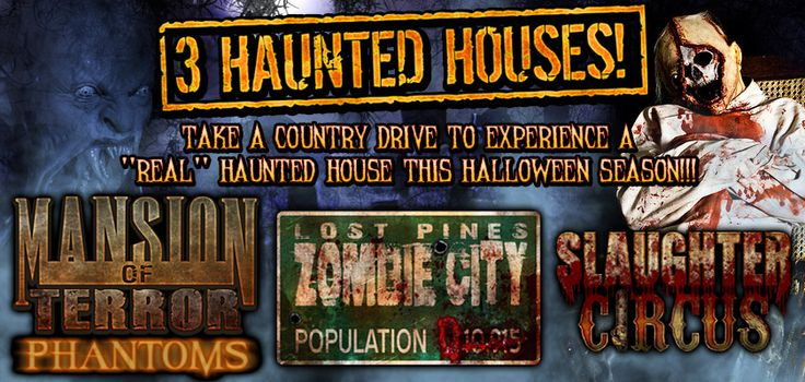 Scream Hollow - Wicked Halloween Park. The scariest Spirit of Halloween experience in Austin, Texas to bring the whole family