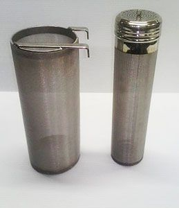 Stainless hop spider and corny keg dry hopper. This company has lots of unique brewing supplies.
