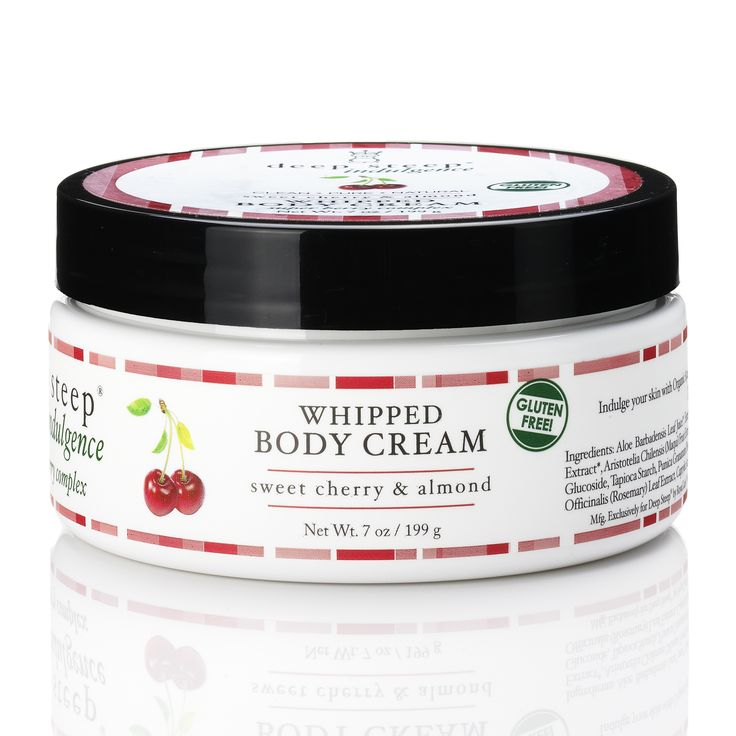 Deep Steep Sweet Cherry & Almond Whipped Body Cream 199g - feelunique.com