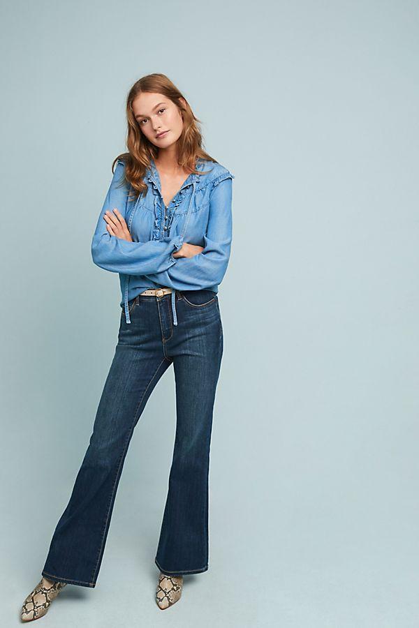 1b6a543fe1d5 Slide View  1  Pilcro High-Rise Curvy Bootcut Jeans