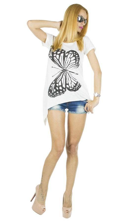 Tricou Dama Throttle  -Tricou dama casual  -Model lejer ce cade bine pe corp  -Design interesant     Latime talie:40cm  Lungime:65cm  Lungime colt:85cm  Compozitie:100%Bumbac