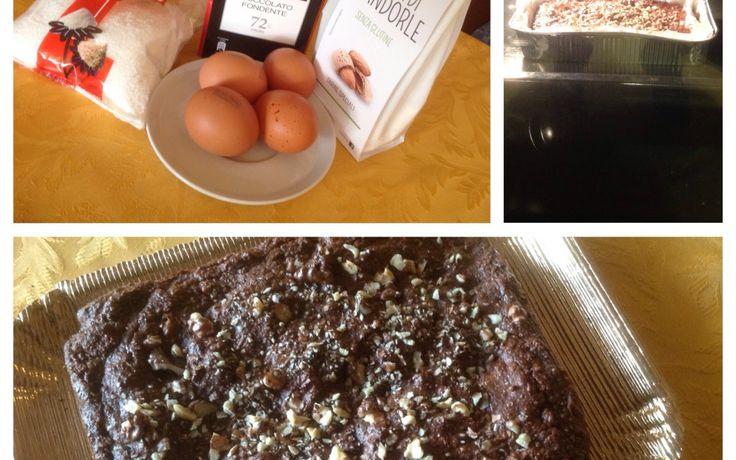 Torta proteica senza farina, zucchero e lievito