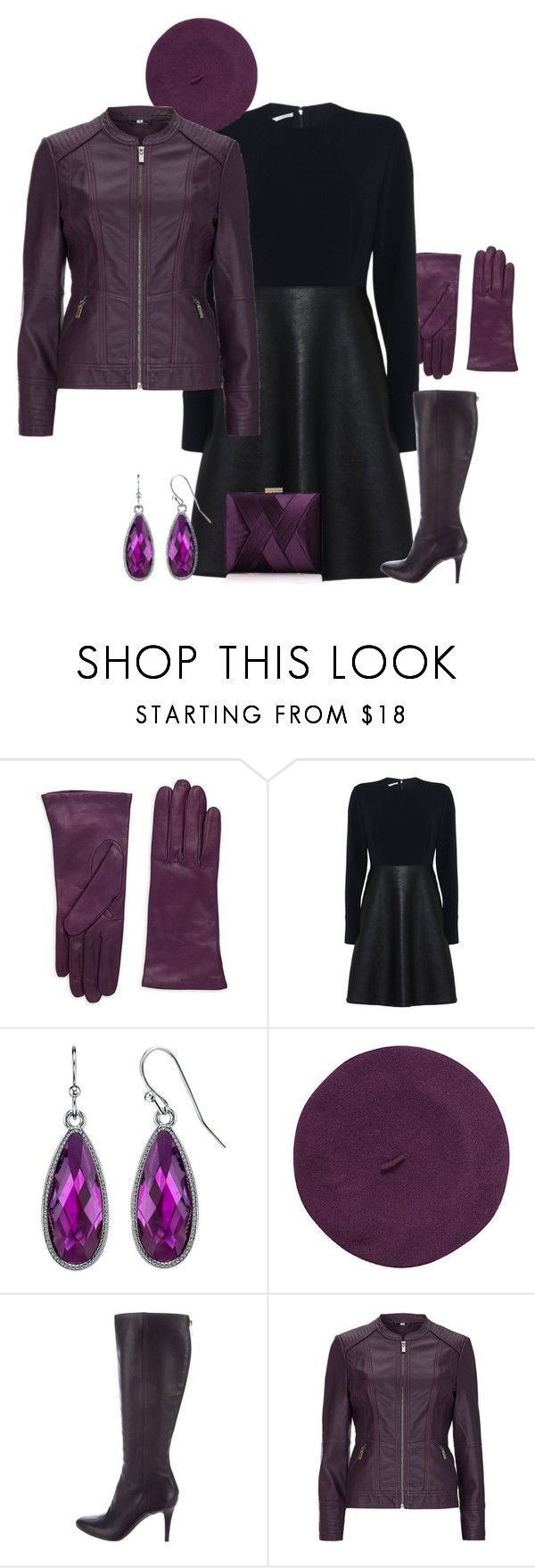 """Nicely dressed in violet"" by andrea-barbara-raemy on Polyvore featuring Mode, Portolano, STELLA McCARTNEY, 1928, Parkhurst, Jimmy Choo, House of Fraser und La Regale"