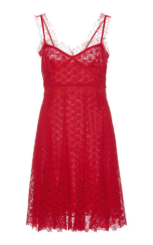 All over lace dress preferably halter neck