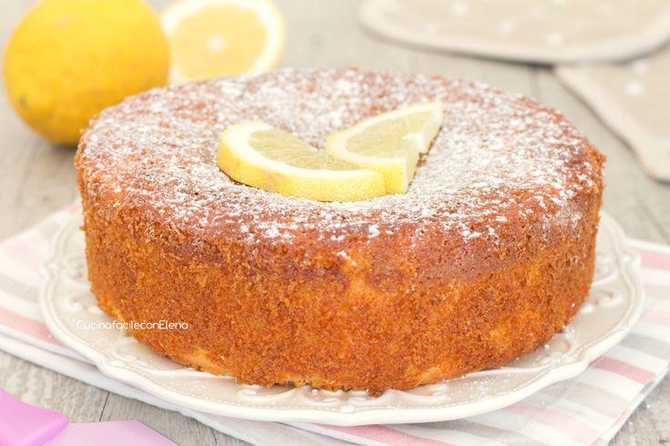 torta senza bilancia al limone intera