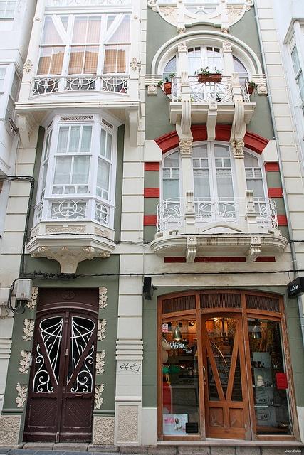 casa modernista by FERROLturismo, via Flickr