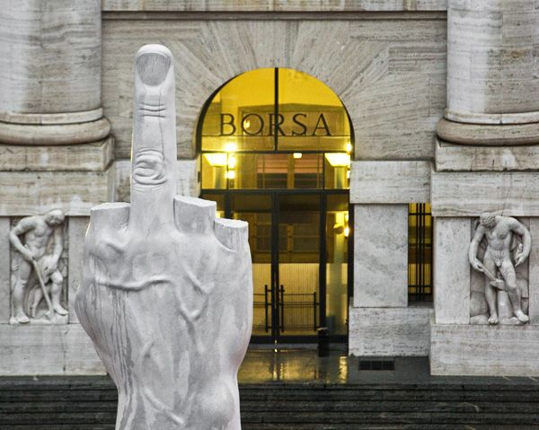 In the late 1980s Maurizio Cattelan emerged on the international art circuit with sculptures that appeared equal parts sight-gag and natural history diorama. Combining taxidermied animals, wax figures, and the tears of a clown, he has reigned as court jester of the art fair set for the better part of two decades.