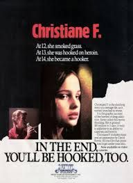 US cover for Christiane F.