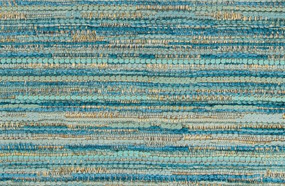 A contemporary abstract upholstery fabric in aqua blue, light blue and teal. This durable heavyweight woven fabric is suitable for all furniture upholstery, pillows and padded headboards. See more suggested usage, additional color links and custom decor options below. This listing is for fabric by the yard. FABRIC SAMPLES: Fabric Name for Sample Order: Rochester Order Fabric Swatches Here: https://www.etsy.com/listing/125101789/fabric-sample-order FABRIC BY THE YARD: *The listing price i...