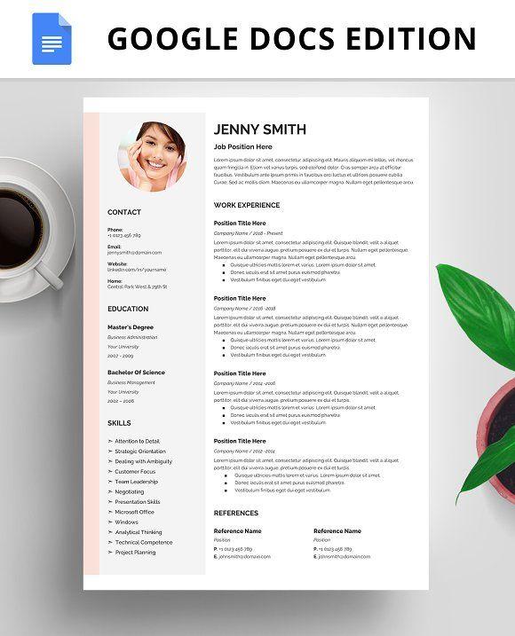 Resume Template Cv Google Docs Resume Template Resume Design Template Resume Examples