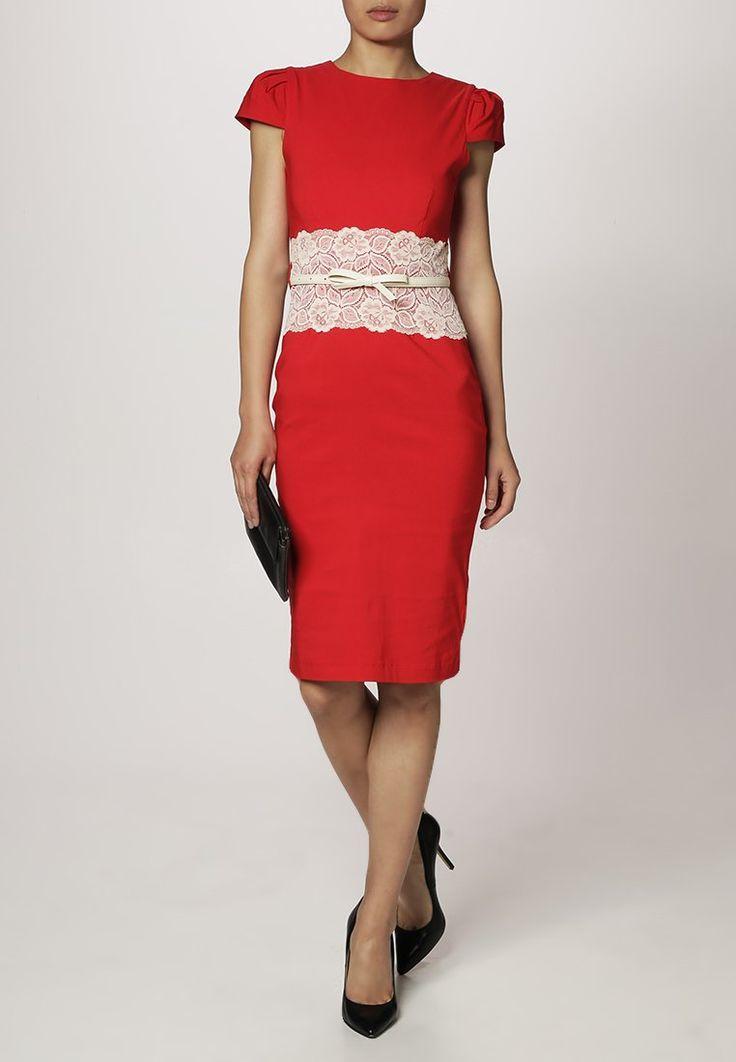Czerwona sukienka koktajlowa Paper Dolls | DressForYou.pl - stylizacje na każdą okazję!