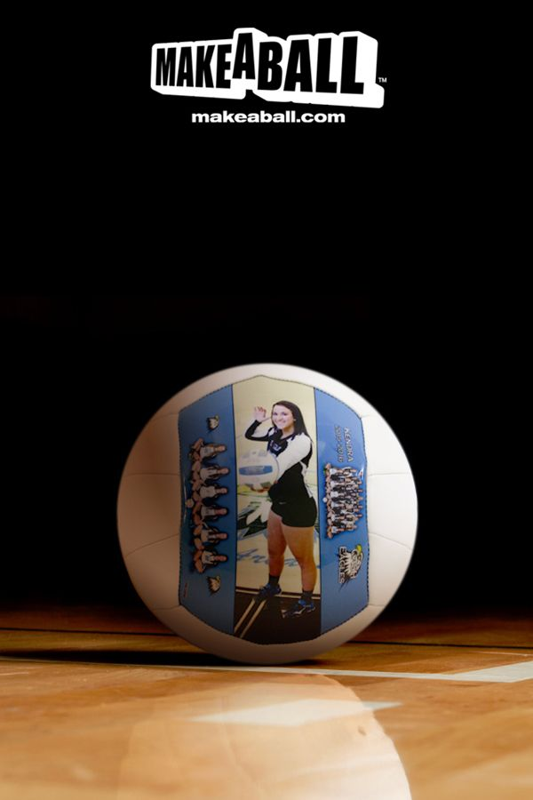 Unique high-gloss synthetic leather volleyball gift, designed and made just for you using your own pictures, texts, or quotes. Let the gift speak for you.