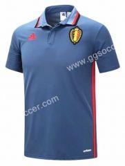 2016 European Cup Belgium Gray Polo Shirt