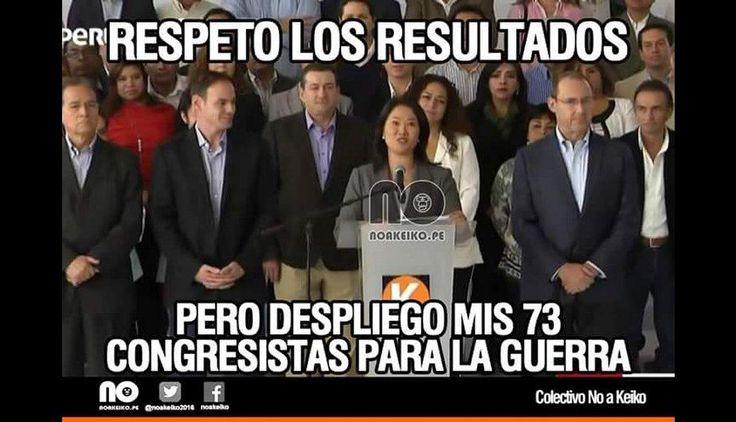 Luego de que la lideresa de Fuerza Popular, Keiko Fujimori, aceptase los resultados de las elecciones presidenciales que dan como virtual ganador a Pedro Pablo Kuczynski, los memes no se hicieron esperar.