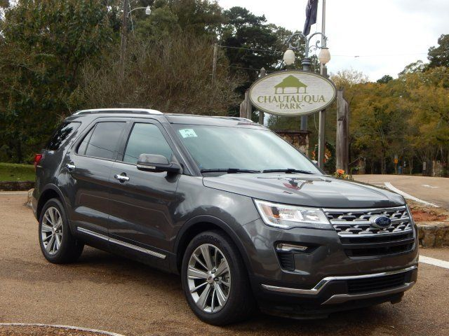 This 2018 Magnetic Ford Explorer Limited Will Attract You With Its