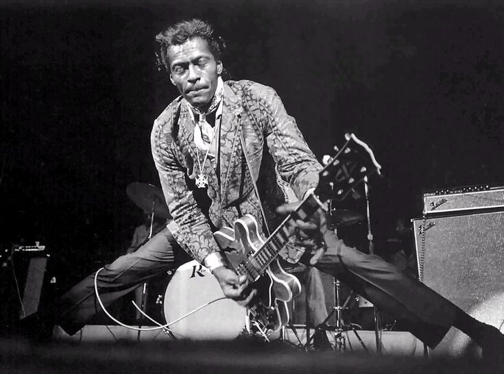 If you want to play rock 'n' roll, better learn how to play Chuck Berry riffs.