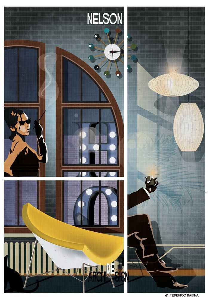 4 | Famous Furniture Designs Star In These Noir-Inspired Movie Posters | Co.Design | business + design