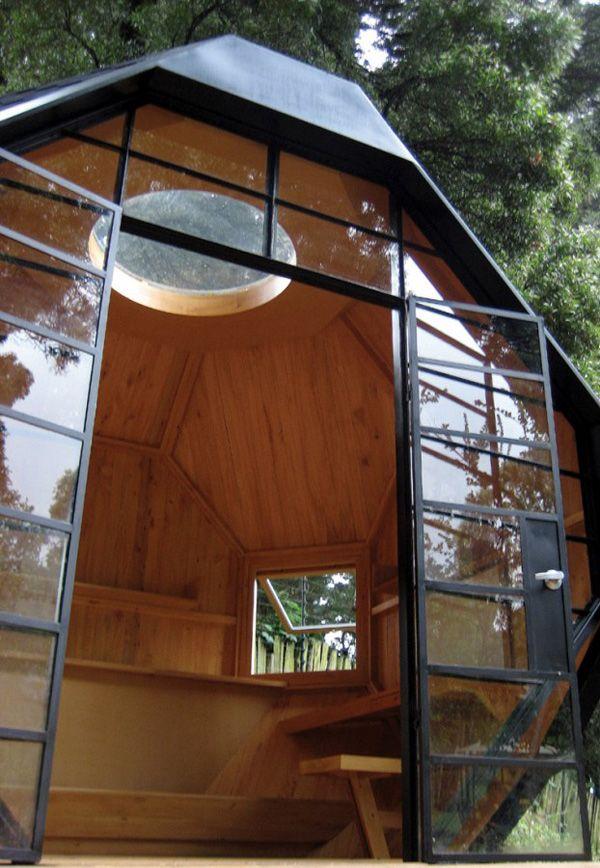 outdoor sauna room idea! superrr cool!