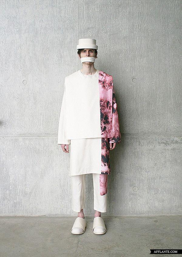 Craig Green AW12 fashion print