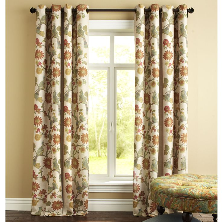 French Door Privacy Curtain Panels