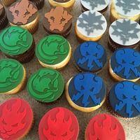 Ninjago Cupcake Toppers (12 ct) - Thumbnail 1