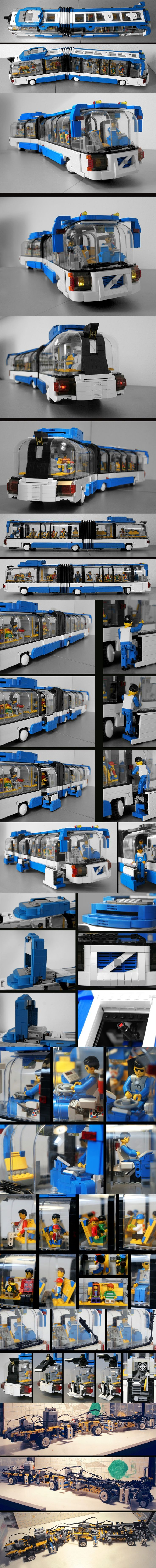 WOW! Volvo CAB - 87cm long and 18 studs wide #LEGO #Volvo