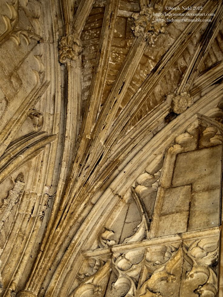 Details of the architecture of Gloucester Cathedral