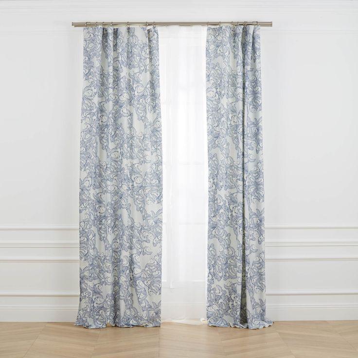 Les 25 meilleures id es concernant rideaux contemporains sur pinterest d co - Toile de mayenne rideaux ...