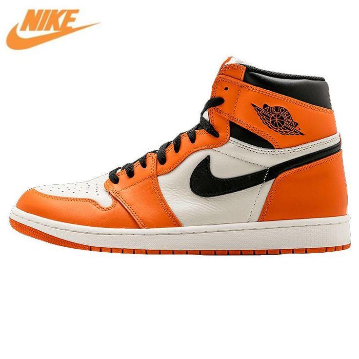 Nike Air Jordan 1 Retro High OG AJ1 White Orange White Rebound ...