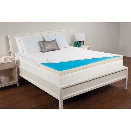 Comfort Memories 25inch Hydraluxe Gel and Memory Foam Mattress Topper King >>> Read more details by clicking on the image. #BedroomFurniture #FoamMattress